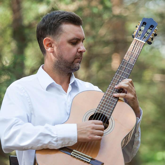 Sergejus Krinicinas gitaros pamokos Kaune